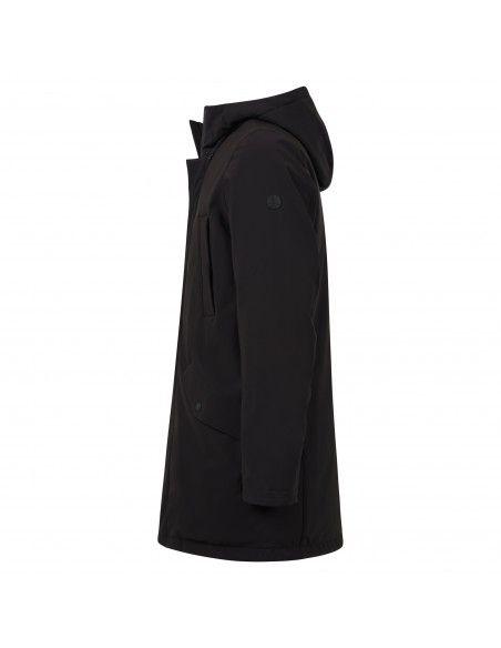 AT.P.CO - Giubbotto nero con cappuccio per uomo   a213mark5521n019 999