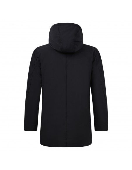 Ciesse Piumini - Giubbotto nero con cappuccio per uomo | edge p0125d 201xxm