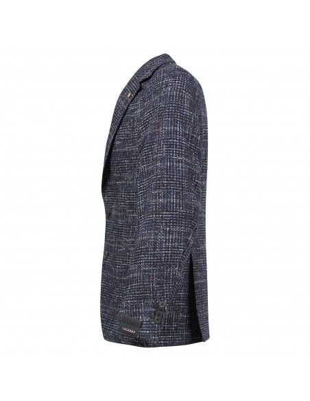 Sartoria Latorre - Giacca blu check per uomo   f84 q80340