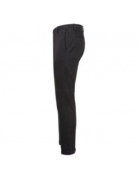 AT.P.CO - Pantalone nero tasca a filo per uomo | a211sasa45 tc101 999