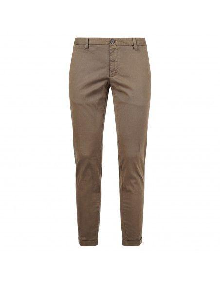 AT.P.CO - Pantalone marrone tasca a filo per uomo | a211sasa45 tc101 270