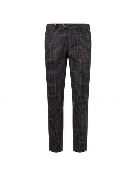 Barbati - Pantalone moro tasca a filo check per uomo | 220652 00001