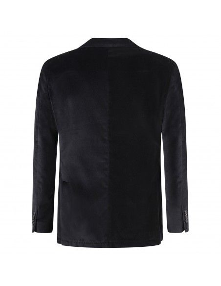 Sartoria Latorre - Giacca nera velluto per uomo   f86 u80183