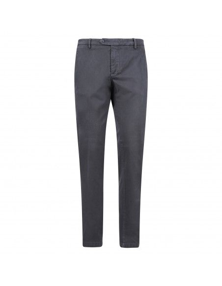 Luca Bertelli - Pantalone grigio tasca a filo per uomo | p1701 louis