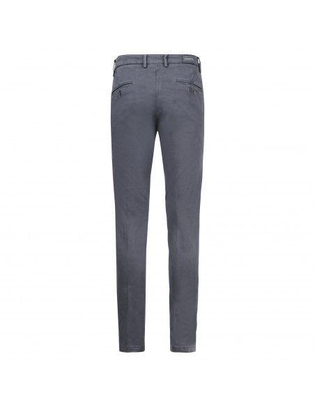 Luca Bertelli - Pantalone grigio tasca a filo per uomo   p1700 skin