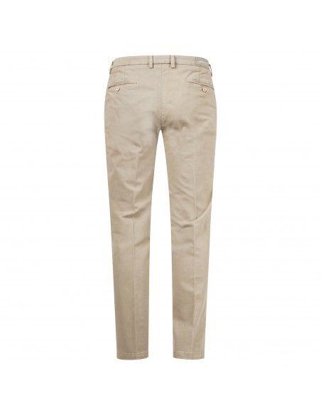 Luca Bertelli - Pantalone beige tasca a filo per uomo | p1701 louis