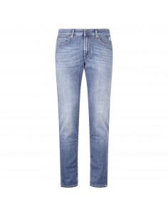 Jeans denim 5 tasche slim strech
