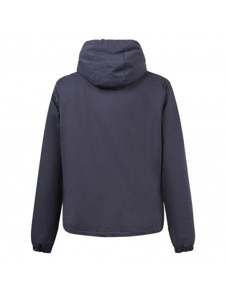 Invicta - Giubbotto blu con cappuccio per uomo | 44314570/u 1300