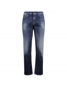 Jeans slim denim medio