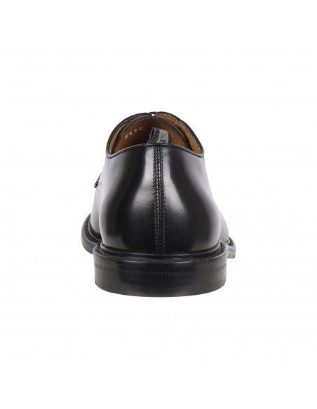 Rossi - Scarpa stringata nera in cuoio per uomo | 8699 938