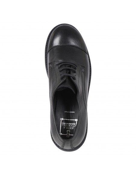 Antica Cuoieria - Scarpa pelle nera per uomo | 20996-v-va8 nero