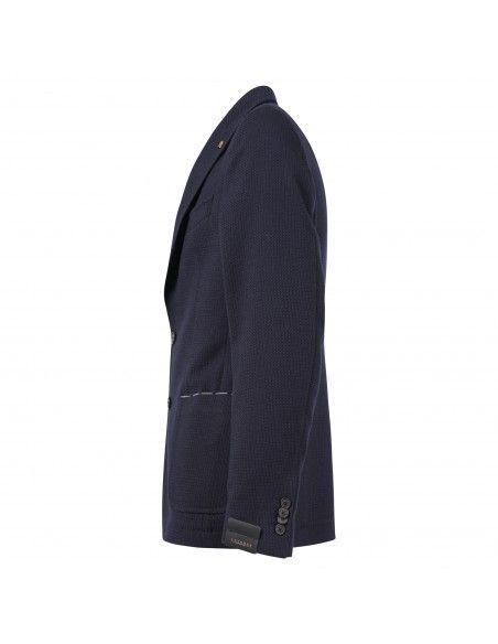 Sartoria Latorre - Giacca blu armaturata per uomo | erice u60333/1