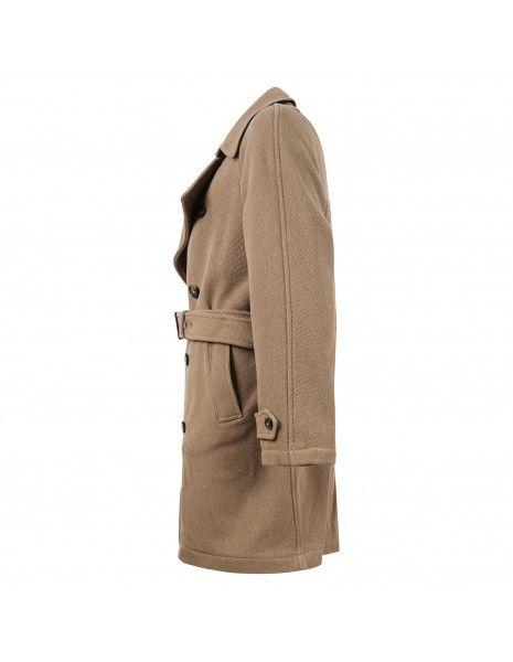 Havana & Co - Cappotto beige doppiopetto per uomo | h1226 t7528  16