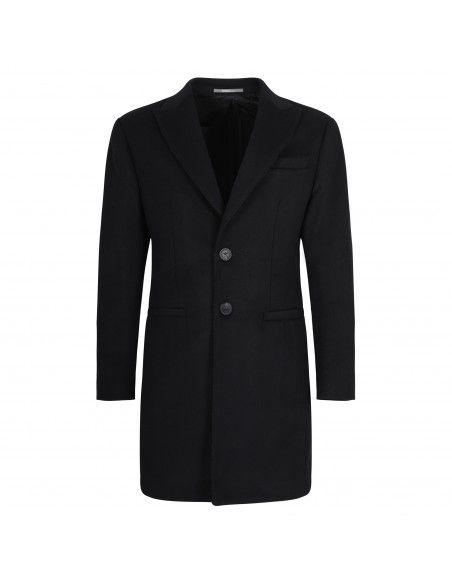 Havana & Co - Cappotto nero per uomo | h1229 t7528 80