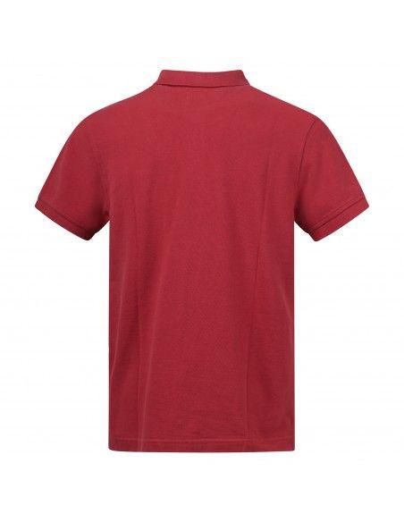 Levi's - Polo rossa manica corta con patch logo per uomo | 35883-0006