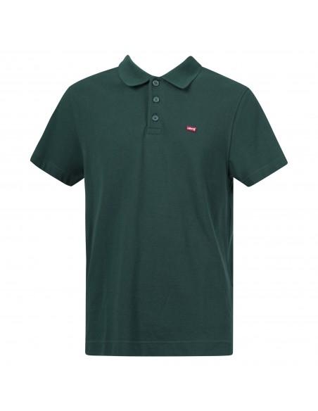 Levi's - Polo verde manica corta con patch logo per uomo | 35959-0004