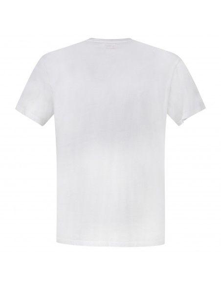 Levi's - T-shirt bianca manica corta con patch logo per uomo | 56605-0000