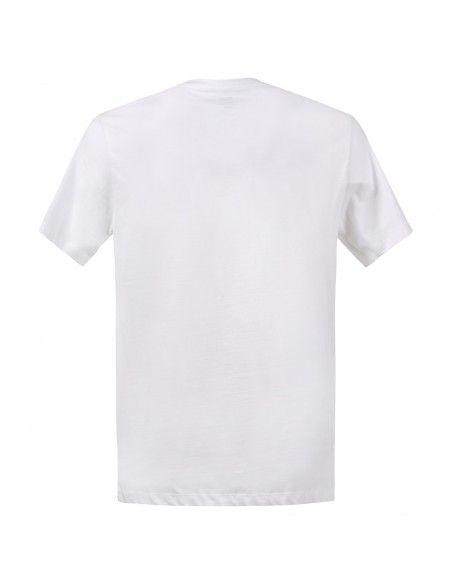 Levi's - T-shirt bianca manica corta con patch logo per uomo | 22489-0343