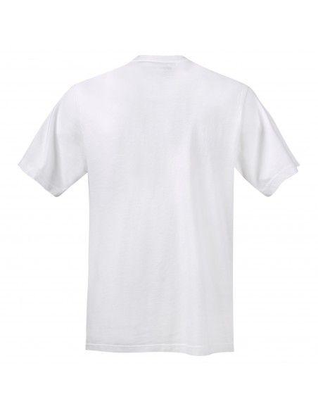 Levi's - T-shirt bianca manica corta con stampa logo per uomo | 16143-0106