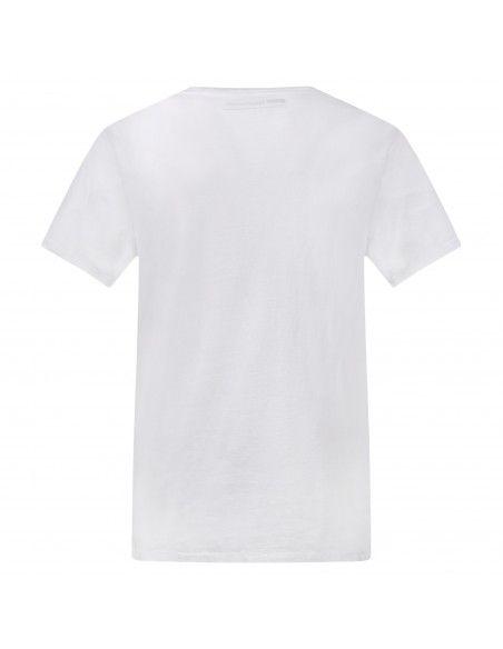 Levi's - T-shirt bianca manica corta con stampa logo per uomo   17783-0140