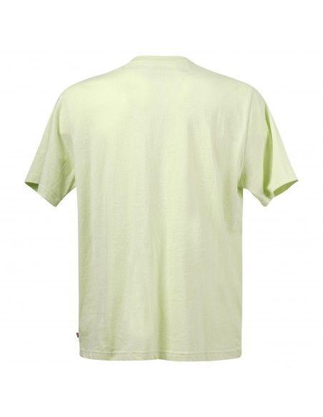 Levi's - T-shirt gialla manica corta con stampa logo per uomo | 16143-0121