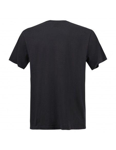 Levi's - T-shirt nera manica corta con stampa logo per uomo   16143-0084