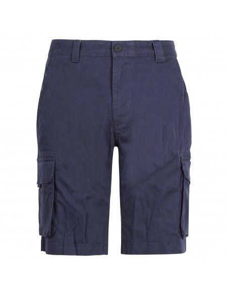 Tommy Jeans - Bermuda blu in cotone con tasconi laterali per uomo |