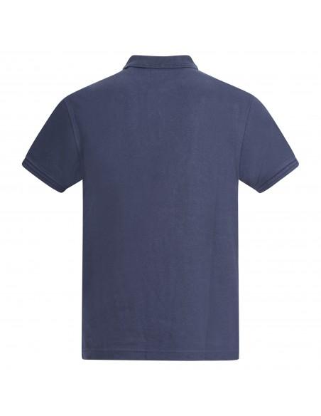 Levi's - Polo blu manica corta con patch logo per uomo | 22401-0003