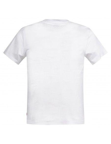 Levi's - T-shirt bianca manica corta con stampa logo per uomo | 39636-0000