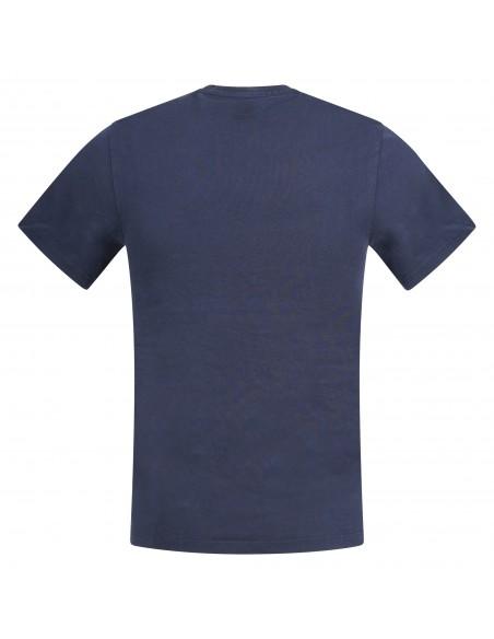 Levi's - T-shirt blu manica corta con stampa logo per uomo | 39636-0003