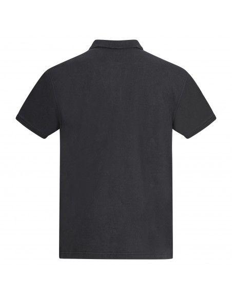 Levi's - Polo nera manica corta con patch logo per uomo | 22401-0080