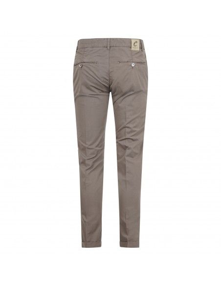 Camouflage - Pantalone marrone tasca a filo per uomo   chinos sand 09t 781 moka