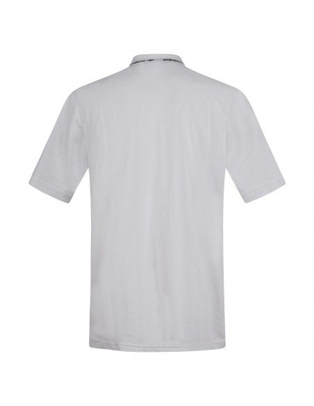 Adidas Originals - Polo bianca manica corta con logo per uomo   gn3835