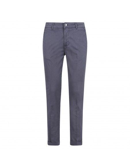 Camouflage - Pantalone blu tasca a filo per uomo | chinos sand 09t 883 classic