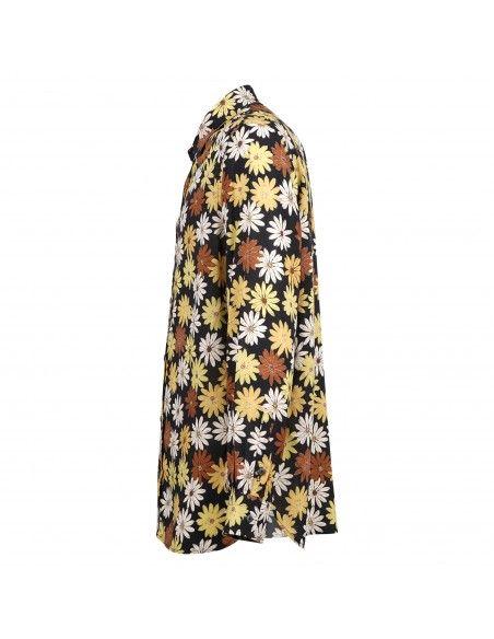 Portofiori - Camicia multicolore con stampa floreale all over per uomo |