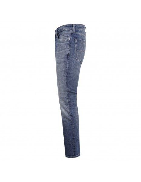 Tommy Jeans - Jeans scanton 5 tasche denim medio slim per uomo | dm0dm102501a5