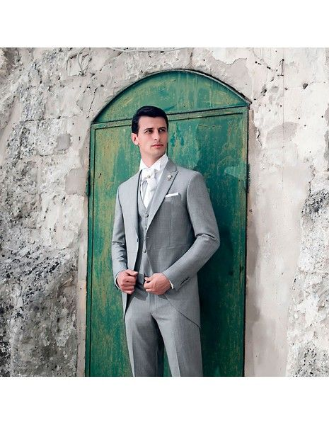 Angelo Toma - Abito tight grigio per uomo |