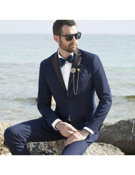 Angelo Toma - Abito classico blu per uomo |