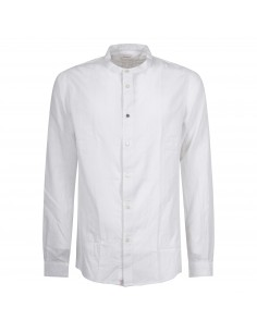 Camicia bianca coreana lavorata