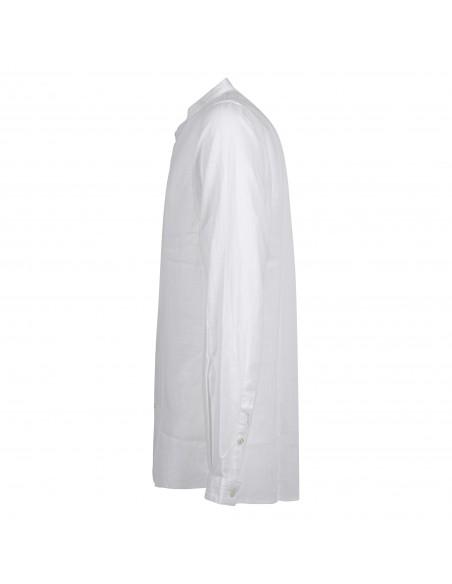 Officina36 - Camicia bianca coreana lavorata per uomo | 3924 ugo 0392408253