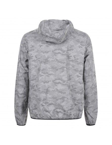 Ciesse Piumini - Giubbotto girigio camouflage con cappuccio per uomo | gobi