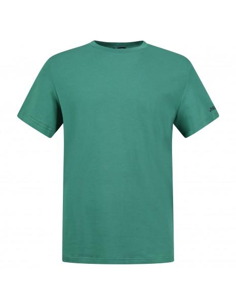 Dsquared2 - T-shirt verde manica corta con stampa logo per uomo   d9m203510 300