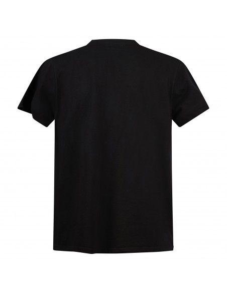 Roy Roger's - T-shirt nera manica corta con stampa logo per uomo |
