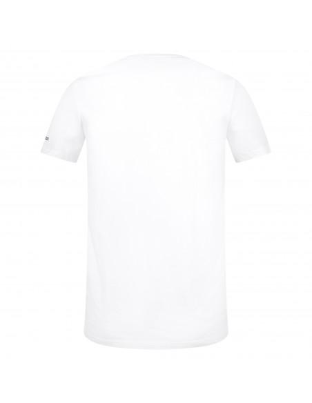Dsquared2 - T-shirt bianca manica corta con stampa logo per uomo | d9m203500 302