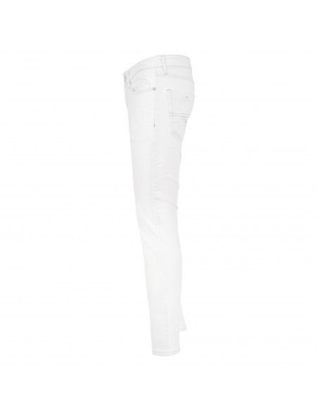 Tommy Jeans - Jeans slim bianco con rotture per uomo | dm0dm098891cd