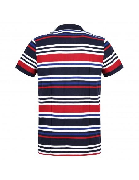 Tommy Jeans - Polo multicolor manica corta in cotone per uomo | dm0dm10321c87