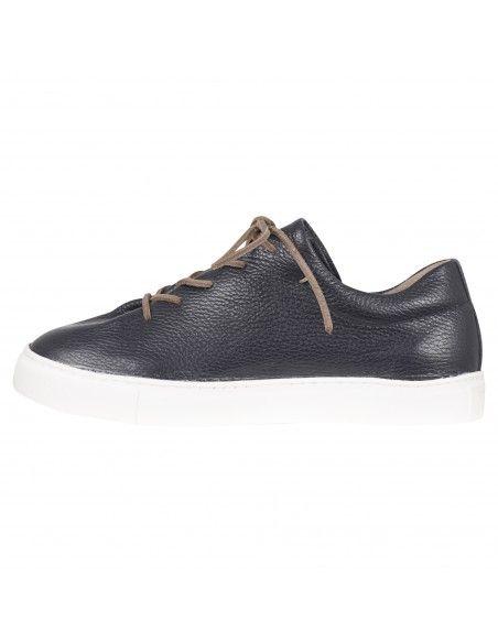 Kjore project - Sneakers blu in pelle martellata per uomo | faer oer pzd 1000