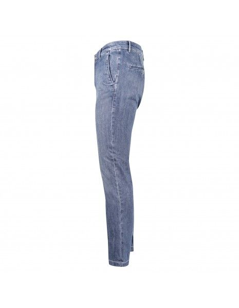 Camouflage - Jeans denim medio tasca a filo slim per uomo | chinos rey 17 zip