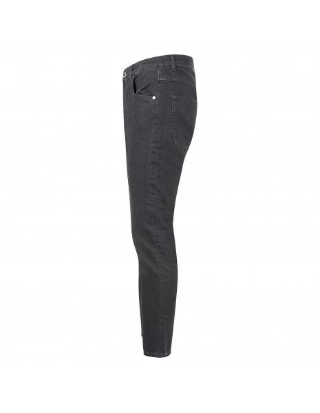 Camouflage - Jeans nero 5 tasche skinny per uomo   rocco d20 a501