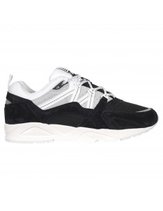 Sneakers basse nere camoscio